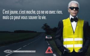 Gilet-jaune-Karl-Lagerfeld